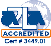 FLW ISO/IEC 17025:2005 accreditation mark