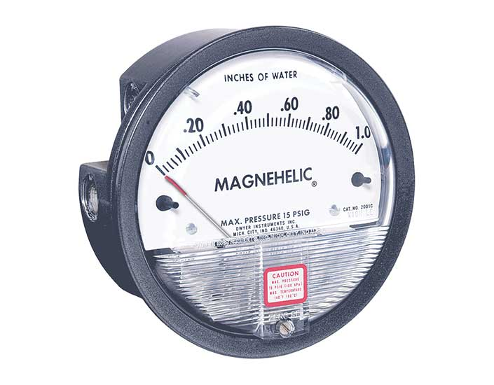 Dwyer Instruments Series 2000 Magnehelic