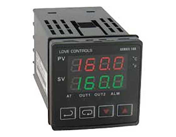 Dwyer Instruments Series 16B 1/16 DIN Temperature/Process Controller