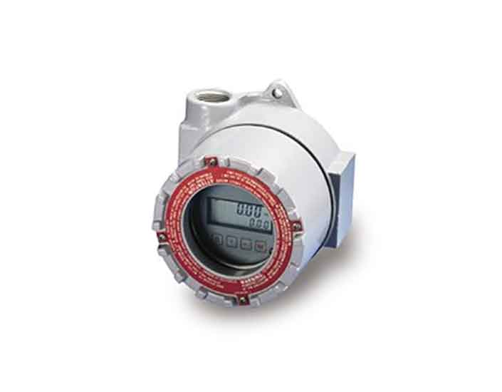 Flow Technology Turbine and PD Flowmeter BR3000 Battery Powered Rate/Total