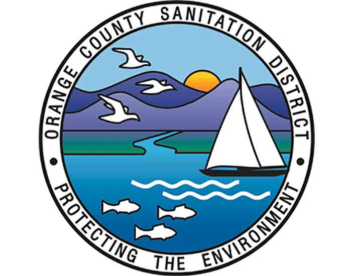 orange county sanitation logo